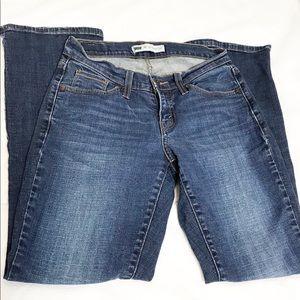 Levis 529 Sz 4 Curvy Boot Cut Medium Wash Jeans